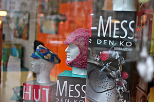 Hut-Messe Avokato Schaufenster Winterhuder Markt